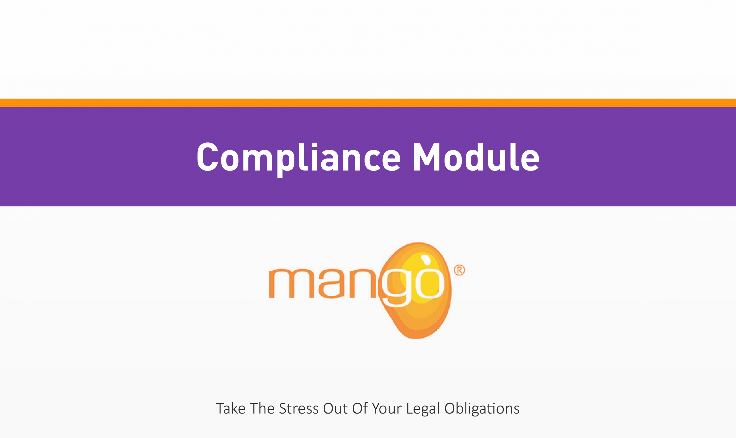 Compliance Module Training Quality Health Safety Environment Management Compliance Services Australia QHSE Consulting And Auditing Mango Compliance Software Solutions