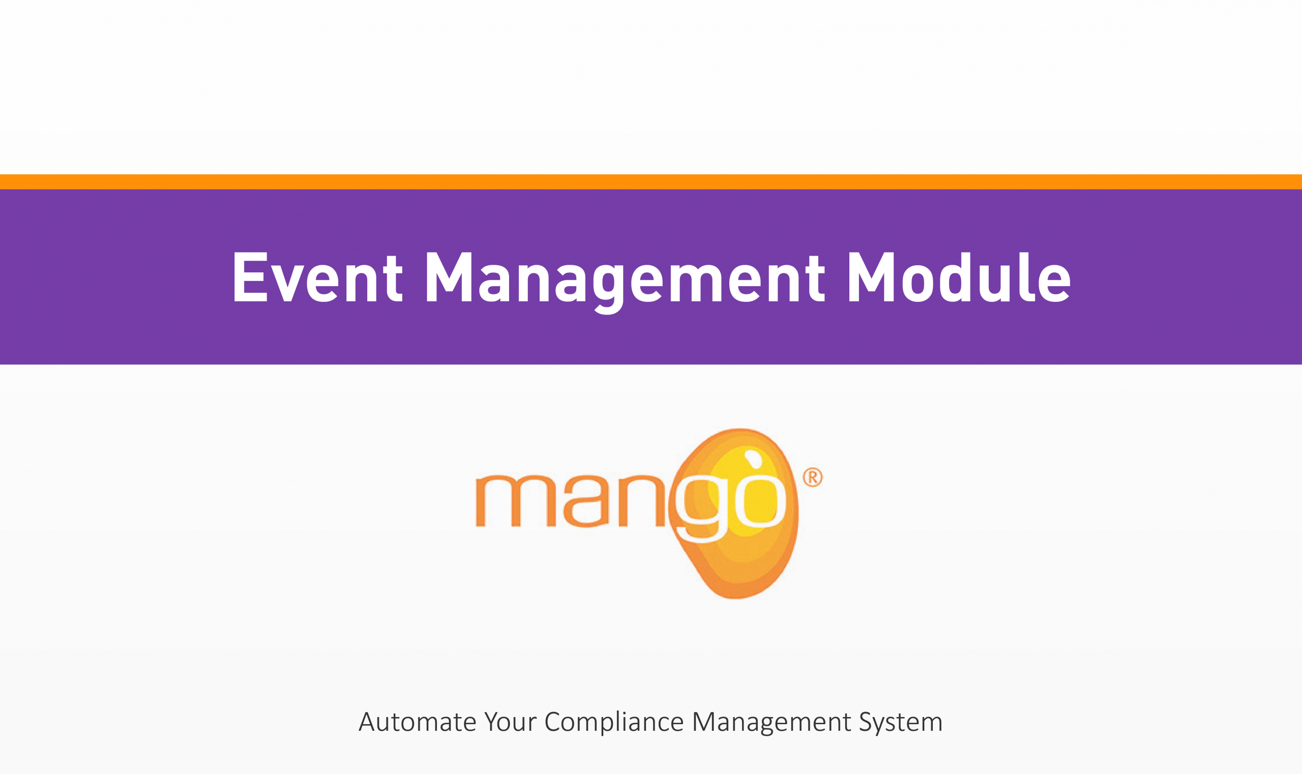 Event Management QHSE Training Quality Health Safety Environment Management Compliance Services Australia QHSE Consulting And Auditing Mango Compliance Software Solutions