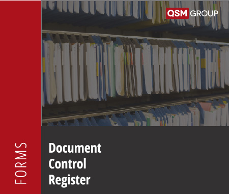 Document Control Register Template to Control the Issuing and Receipt of Documents Quality Health Safety Environment Management Compliance Services Australia QHSE Consulting And Auditing Mango Compliance Software Solutions