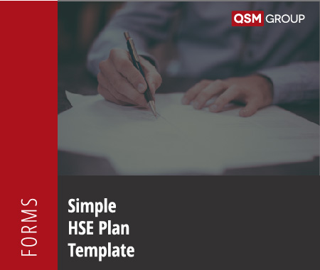 Simple HSE Plan Template Quality Health Safety Environment Management Compliance Services Australia QHSE Consulting And Auditing Mango Compliance Software Solutions